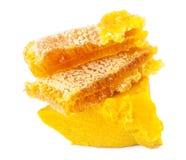 Honeycomb i wosk Fotografia Stock