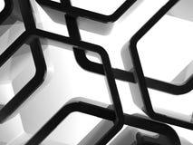 Honeycomb instalacyjny tło, 3d ilustracji