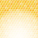 Honeycomb Invitation Card with Place for Text Stock Image