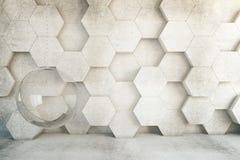 Honeycomb krzesło Fotografia Royalty Free