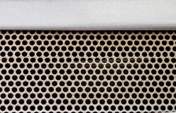 The honeycomb lattice for design project. stock photography