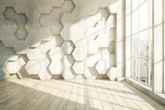 Honeycomb lekki parkietowy Zdjęcia Stock