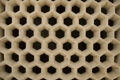 Honeycomb-like structure Royalty Free Stock Photography