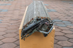 Honeycomb lotnicza selekcyjna ostrość z rozkazu Zdjęcie Stock