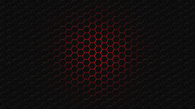 Honeycomb made of hexagons Royalty Free Stock Photo