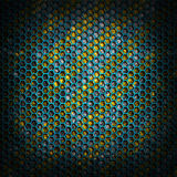 Honeycomb metal background stock photography