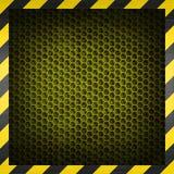 Honeycomb metal background royalty free stock image