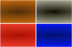 Honeycomb pattern Stock Photos