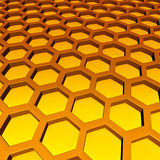 Honeycomb Pattern stock illustration