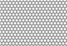 Honeycomb pattern. Black and white Honeycomb pattern Stock Photos