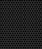 Honeycomb_pattern_bw Royalty Free Stock Images