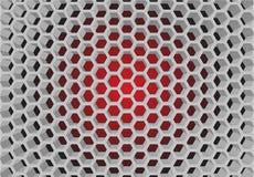 Honeycomb pattern Stock Image