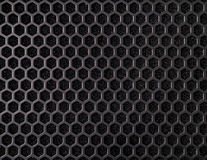Honeycomb pattern of grille Royalty Free Stock Image