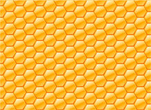 Honeycomb pattern internet background Stock Images