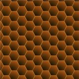 Honeycomb Pattern Vector stock illustration