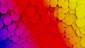 Honeycomb patterns Stock Images