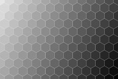 Honeycomb random Grid background or Hexagonal cell texture. in color black or dark with gradient color. Honey bee hive vector illustration