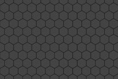 Honeycomb random Grid background or Hexagonal cell texture. in color black or dark with same color. Honey bee hive royalty free illustration