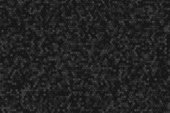 Honeycomb random rotate Grid background or Hexagonal cell texture. in color black or dark. Tone black or dark border style stock illustration