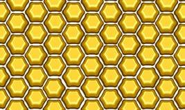 Honeycomb retro Royalty Free Stock Photos