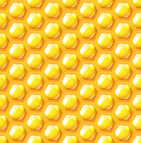 Honeycomb seamless background Stock Image