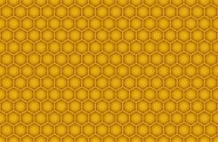 Honeycomb Seamless Pattern Stock Photo