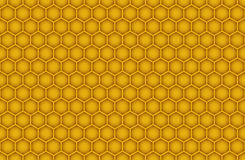 Honeycomb Seamless Pattern. Horizontal Vector Honeycomb Seamless Pattern Stock Photo
