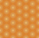 Honeycomb seamless pattern. Stock Photography