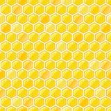 Honeycomb seamless pattern Royalty Free Stock Photography