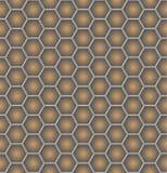 Honeycomb seamless pattern stock illustration