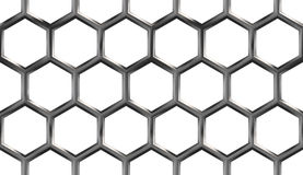 Honeycomb Seamless Pattern Royalty Free Stock Image