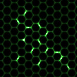 Honeycomb seamless pattern background Royalty Free Stock Images