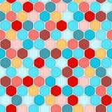 Honeycomb seamless pattern Royalty Free Stock Photo