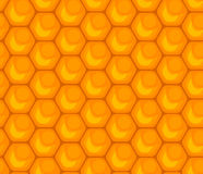 Honeycomb seamless pattern Royalty Free Stock Images