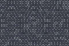 Honeycomb Seamless Pattern. Geometric Hexagons Background Stock Photo