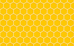 Honeycomb Seamless Pattern. Geometric Hexagons Background Stock Images