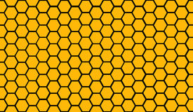 HONEYCOMB. Seamless pattern of a honeycombs Royalty Free Stock Photo