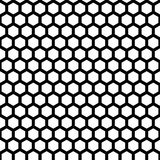 Honeycomb seamless pattern. In vector black color Royalty Free Stock Photos