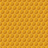 Honeycomb seamless pattern Stock Image