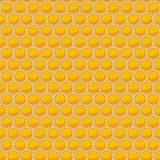Honeycomb seamless pattern. Royalty Free Stock Image