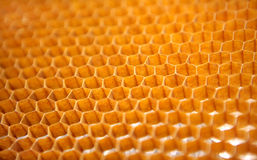 Honeycomb structure for aerospace industry Stock Images