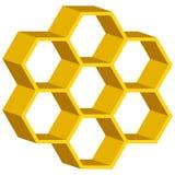 Honeycomb symbol royalty ilustracja