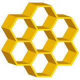 Honeycomb symbol Stock Photos