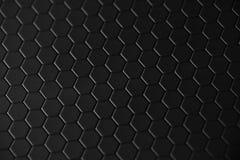 Honeycomb teflon black background Royalty Free Stock Photography