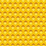 Honeycomb texture Stock Image