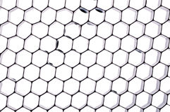 Honeycomb texture Stock Photo
