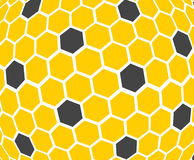 Honeycomb - texture. background. Stock Image