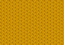Honeycomb Texture. Background Pattern Illustration, Vector Royalty Free Stock Photography