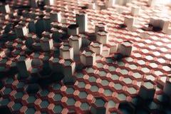 Honeycomb texture Stock Photography