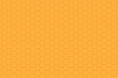 Honeycomb texture. Orange yellow honeycomb texture background Royalty Free Stock Photography